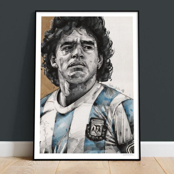 can gallery diego maradona