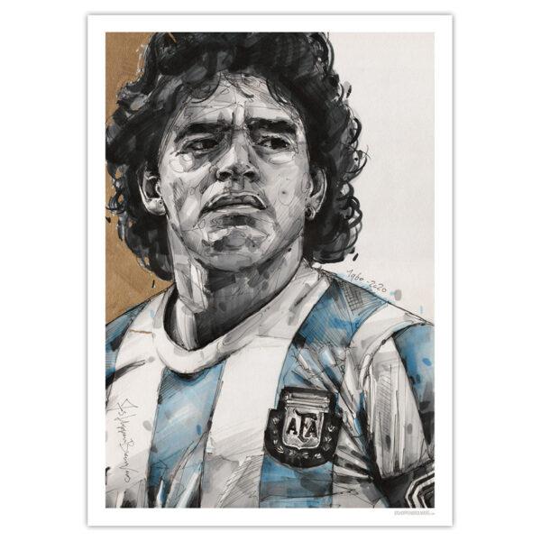 can gallery maradona