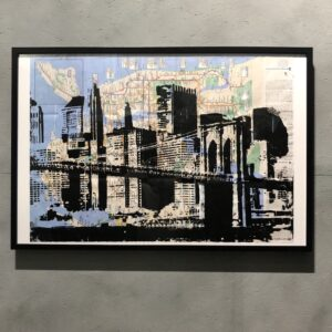 can gallery stencil art nyc graffiti subway map
