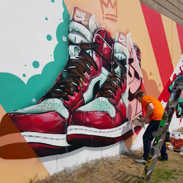 can gallery air jordan 1 graffiti