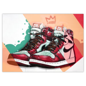 can gallery air jordan 1 graffiti