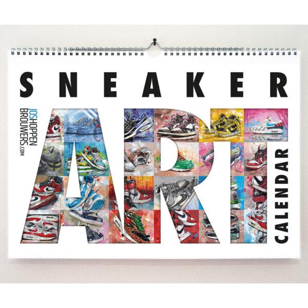 sneaker art calendar