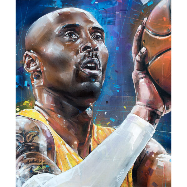 can gallery kobe bryant painting