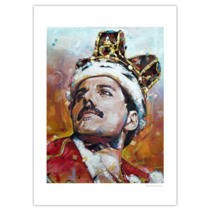 can gallery freddie mercury queen crown