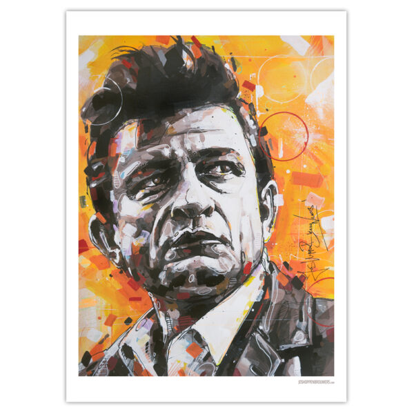 can gallery johnny cash art