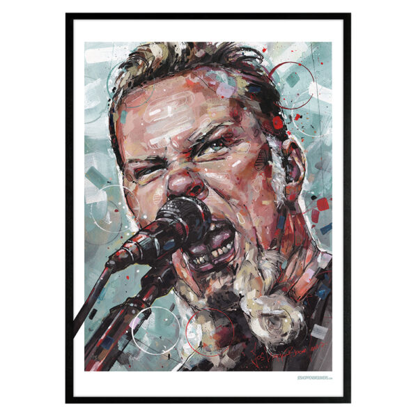 can gallery james hetfield metallica
