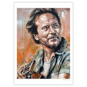 can gallery eddie vedder pearl jam
