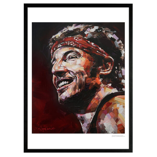 can gallery bruce springsteen art