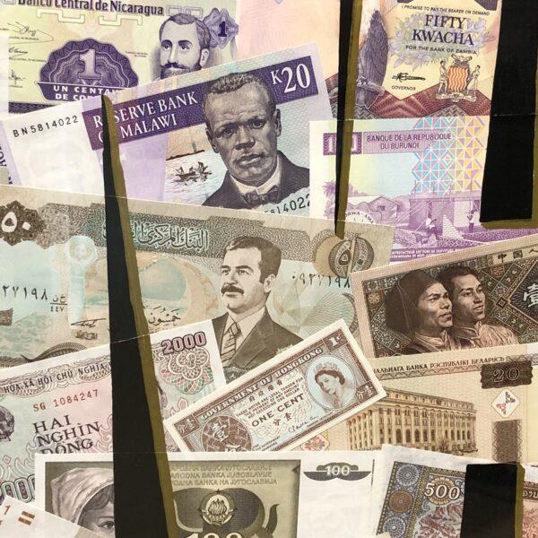 cangallery streetart eindhoven bankbiljetten geld