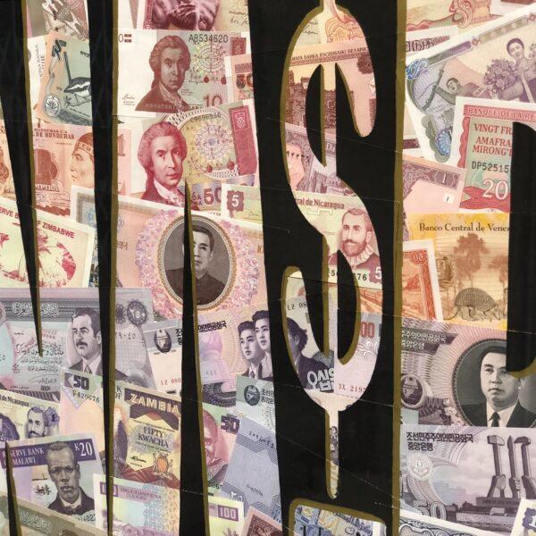 cangallery streetart eindhoven bankbiljetten money geld