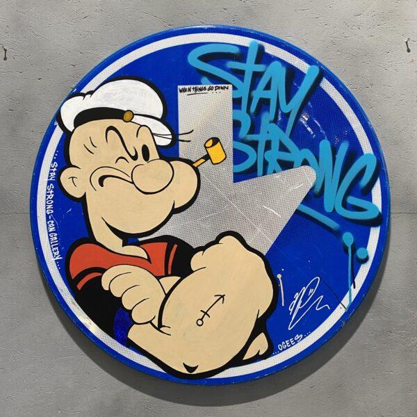 can gallery graffiti popeye