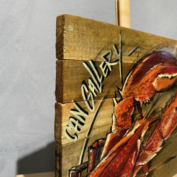 can gallery graffiti lobster